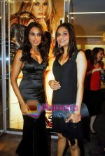 Bipasha Basu, Madhoo at the re- opening of the Jimmy Choo store at Galleria, Trident, Nariman Point, Mumbai on 5th Oct 2009 (13).jpg