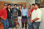Farid Amiri, Dabboo Malik, Anuj Sawhney, Sanda Caktas, Sunil Pathare, Areesz Gandhi, Sameer Aftab at 3 Nights 4 days film promotional shoot in Oshiwara on 5th Oct 2009 (4).JPG