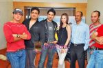Farid Amiri, Dabboo Malik, Anuj Sawhney, Sanda Caktas, Sunil Pathare, Areesz Gandhi at 3 Nights 4 days film promotional shoot in Oshiwara on 5th Oct 2009 (6).JPG
