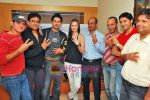 Farid Amiri, Dabboo Malik, Anuj Sawhney, Sanda Caktas, Sunil Pathare, Areesz Gandhi, Sameer Aftab at 3 Nights 4 days film promotional shoot in Oshiwara on 5th Oct 2009 (2).JPG
