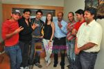 Farid Amiri, Dabboo Malik, Anuj Sawhney, Sanda Caktas, Sunil Pathare, Areesz Gandhi, Sameer Aftab at 3 Nights 4 days film promotional shoot in Oshiwara on 5th Oct 2009 (5).JPG