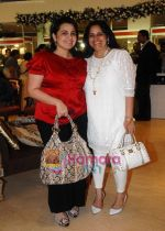 Elina Meswani with Bindu Rana Kapoor at Araaish exhibition in Blue Sea on 6th Oct 2009.JPG