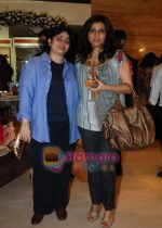 Nitasha Nanda with Isha Mehra at Araaish exhibition in Blue Sea on 6th Oct 2009.jpg