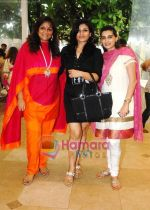 Sharmilla Khanna, Raveena Tandon, Mana Shetty at Araaish exhibition in Blue Sea on 6th Oct 2009~0.jpg