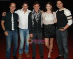 Areez Gandhi,Actor Samir aftab,Farid Amiri and Actress Sanda Caktas with Anuj Sawhney at 3 Nights 4 Days Premiere in Cinemax Kalyan on 9th Oct 2009.JPG