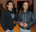 Singer Daboo Malik and Producer Sunil Pathare at 3 Nights 4 Days Premiere in Cinemax Kalyan on 9th Oct 2009.JPG