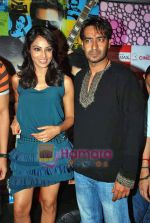 Bipasha Basu, Ajay Devgan at All the Best promotional event in Cinemax on 18th Oct 2009 (5).JPG