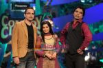 Harsh chaya-Tina datta and jimmy on Comedy Circus 3 on 20th Oct 2009.JPG