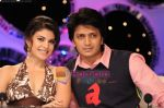 Jacquline fernandis and ritesh on Comedy Circus 3 on 20th Oct 2009.jpg
