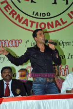 Akshay Kumar at 1st Invitational Open National Karate Championship in Andheri Sports Complex, Mumbai  on 21st Oct 2009 (2).JPG