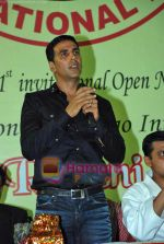Akshay Kumar at 1st Invitational Open National Karate Championship in Andheri Sports Complex, Mumbai  on 21st Oct 2009 (9).JPG