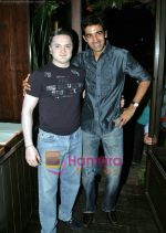 Gautam Singhania and Nikhil Chib at Busaba Lounge_s 8th Anniversary bash in Mumbai on 21st Oct 2009.JPG