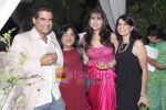 AD Singh, Sushma Puri, Tanisha Mohan with a friend at Elite Model Management Bash in Olive, New Delhi on 22nd Oct 2009.JPG