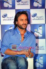 Saif Ali Khan at the launch of New Head N Shoulders Scalp Massage Cream in Mumbai on 29th Oct 2009 (3).JPG