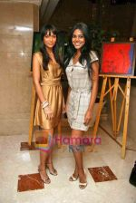 Natasha Suri and Shamita Singha at Sachi Vajani art event in Leela on 7th Nov 2009 (2).JPG