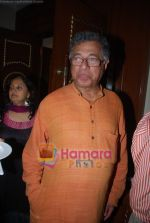 Girish Karnad at the launch of Om Puri_s biography titled Unlikely Hero in ITC Grand Central, Mumbai on 23rd Nov 2009 (55).JPG