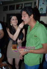 Kainaat Arora, Chunky Pandey at Kainaat Arora_s Birthday Bash in Elbow room on 1st Dec 2009 (3).JPG