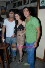 Kainaat Arora, Chunky Pandey at Kainaat Arora_s Birthday Bash in Elbow room on 1st Dec 2009 (4).JPG