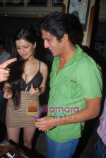 Kainaat Arora, Chunky Pandey at Kainaat Arora_s Birthday Bash in Elbow room on 1st Dec 2009 (6).JPG