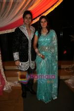 Shaleen Balot and Daljeet Kaur at Shaleen and Daljeet_s wedding reception in Andheri, Mumbai on 13th Dec 2009 (2).JPG
