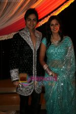 Shaleen Balot and Daljeet Kaur at Shaleen and Daljeet_s wedding reception in Andheri, Mumbai on 13th Dec 2009 (3).JPG