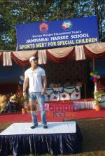 John Abraham attends Sports day for spcial children in Jamnabai Narsee school on 24th Dec 2009.JPG