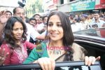 Vidya Balan inaugurates ICU ward of INLAKS General Hospital in Chembur on 26th Dec 2009 (18).JPG