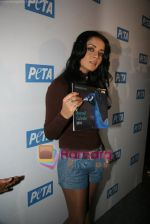Celina Jaitley unveils the annual PETA calendar in Bandra, Mumbai on 29th Dec 2009 (3).JPG