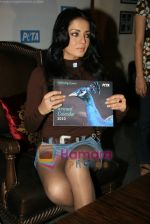 Celina Jaitley unveils the annual PETA calendar in Bandra, Mumbai on 29th Dec 2009 (6).JPG