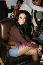 Celina Jaitley unveils the annual PETA calendar in Bandra, Mumbai on 29th Dec 2009 (8).JPG