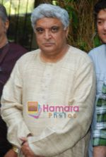 Javed Akhtar at Musicians thank Indian Govt for Royalties in Press Club on 29th Dec 2009 (3).JPG