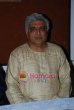 Javed Akhtar at Musicians thank Indian Govt for Royalties in Press Club on 29th Dec 2009 (5).JPG