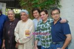 Javed Akhtar, Aadesh Shrivastav, Lalit Pandit at Musicians thank Indian Govt for Royalties in Press Club on 29th Dec 2009 (23).JPG