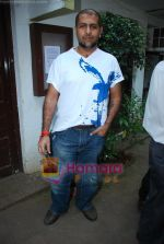 Vishal Dadlani at Musicians thank Indian Govt for Royalties in Press Club on 29th Dec 2009 (2).JPG