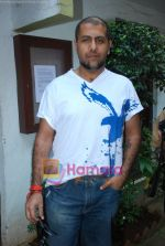 Vishal Dadlani at Musicians thank Indian Govt for Royalties in Press Club on 29th Dec 2009 (3).JPG