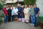 Vishal Dadlani, Sameer, Sulaiman Merchant, Jagjit Singh, Javed Akhtar, Aadesh Shrivastav, Lalit Pandit at Musicians thank Indian Govt for Royalties in Press Club on 29th Dec 2009 (2).JPG