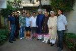 Vishal Dadlani, Sameer, Sulaiman Merchant, Jagjit Singh, Javed Akhtar, Aadesh Shrivastav, Lalit Pandit at Musicians thank Indian Govt for Royalties in Press Club on 29th Dec 2009 (7).JPG