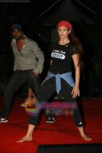 Anjana Sukhani practises for Seduction 2010 show in Sahara Star on 30th Dec 2009 (31).JPG