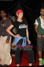 Anjana Sukhani practises for Seduction 2010 show in Sahara Star on 30th Dec 2009 (32).JPG