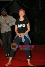 Anjana Sukhani practises for Seduction 2010 show in Sahara Star on 30th Dec 2009 (34).JPG