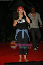 Anjana Sukhani practises for Seduction 2010 show in Sahara Star on 30th Dec 2009 (35).JPG