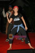 Anjana Sukhani practises for Seduction 2010 show in Sahara Star on 30th Dec 2009 (36).JPG