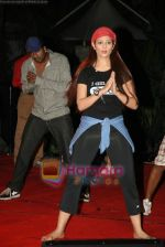 Anjana Sukhani practises for Seduction 2010 show in Sahara Star on 30th Dec 2009 (37).JPG