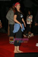 Anjana Sukhani practises for Seduction 2010 show in Sahara Star on 30th Dec 2009 (38).JPG