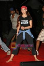 Anjana Sukhani practises for Seduction 2010 show in Sahara Star on 30th Dec 2009 (39).JPG