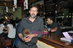 Rajat Kapoor at Raat Gayi Baat Gayi cast chills at Bonobo bar in Bandra, Mumbai on 30th Dec 2009 (15).JPG