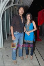Shreyas Talpade at Rishi Darda_s annual bash in Tote, Worli on 29th Dec 2009 (3).JPG