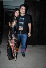 Sonali Bendre, Goldie Behl at Sonali Bendre_s birthday bash in Juhu Residence on 31st Dec 2009 (2).JPG