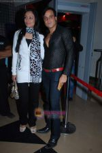 Yash Tonk, Gauri Tonk at Paranormal Activity film premiere in PVR on 5th Jan 2010 (3).JPG