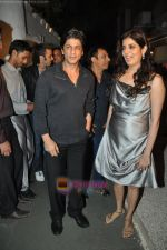 Shahrukh Khan at Daboo Ratnani calendar launch in Olive on 6th Jan 2009 (2).JPG